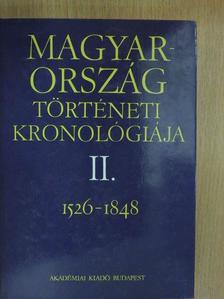 Bálint Csanád - Magyarország történeti kronológiája II. [antikvár]