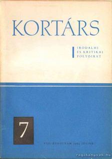 Simon István - Kortárs irodalmi és kritikai folyóirat VIII. évf. 7. szám [antikvár]