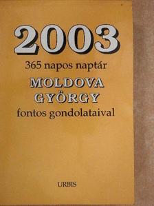 Moldova György - 2003 [antikvár]