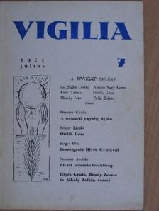 Beney Zsuzsa - Vigilia 1971. július [antikvár]