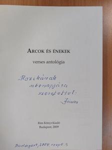 Ágh István - Arcok és énekek 2009 (dedikált példány) [antikvár]