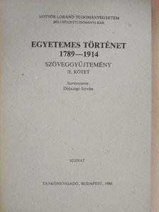 Apollinaire - Egyetemes történet 1789-1914 II. (töredék) [antikvár]