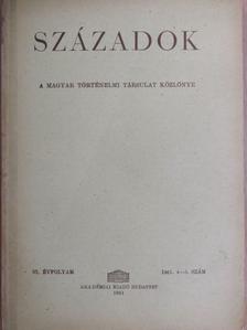 Dolmányos István - Századok 1961/4-5. szám [antikvár]