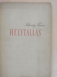 Pákozdy Ferenc - Helytállás [antikvár]