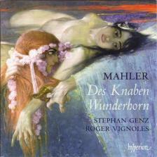MAHLER - DES KNABEN WUNDERHORN CD STEPHAN GENZ, ROGER VIGNOLES