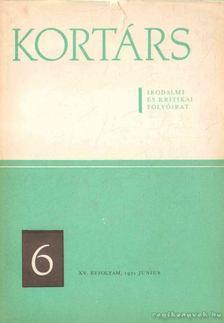 Simon István - Kortárs irodalmi és kritikai folyóirat XV. évf. 6. szám [antikvár]