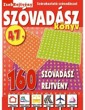 CsoSch Kft. - ZsebRejtvény SZÓVADÁSZ Könyv 47.