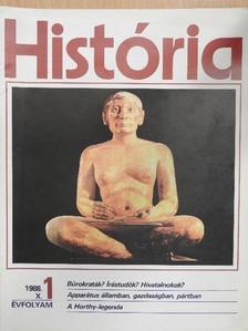 Borus József - História 1988/1. [antikvár]