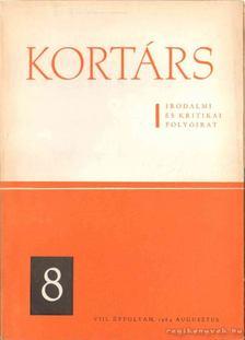 Simon István - Kortárs irodalmi és kritikai folyóirat VIII. évf. 8. [antikvár]