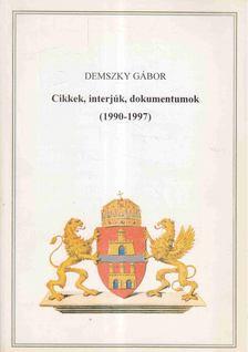 Demszky Gábor - Cikkek, interjúk, dokumentumok (1997-1997) [antikvár]
