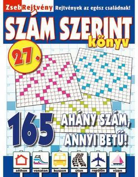 CsoSch Kft. - ZsebRejtvény SZÁM SZERINT Könyv 27.