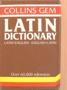D. A. Kidd - Latin Dictionary [antikvár]