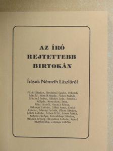 Borbándi Gyula - Az író rejtettebb birtokán [antikvár]