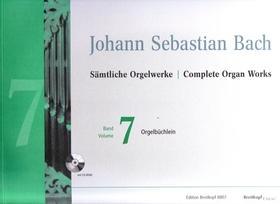J. S. Bach - SAEMTLICHE ORGELWERKE BAND 7: ORGELBÜCHLEIN URTEXT (SVEN HIEMKE) MIT CD-ROM