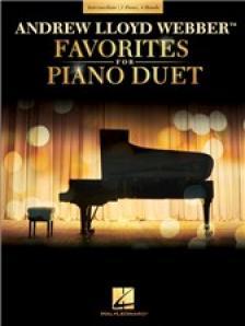WEBBER, - FAVORITES FOR PIANO DUET