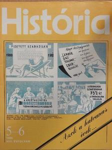 B. Zseliczky Béla - História 1986/5-6. [antikvár]