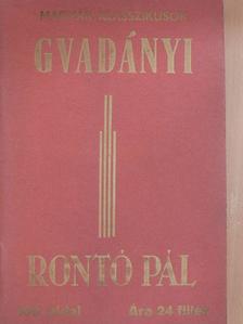 Gvadányi József - Rontó Pál [antikvár]