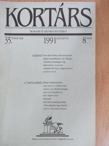 Ács Károly - Kortárs 1991. augusztus [antikvár]