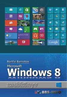 BÁRTFAI BARNABÁS - Windows 8 zsebkönyv [antikvár]