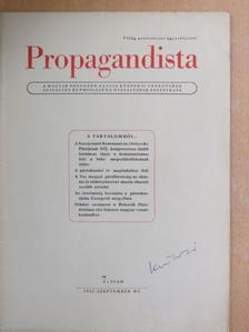 Baráth Györgyné - Propagandista 1952. szeptember [antikvár]