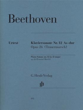 BEETHOVEN - KLAVIERSONATE NR.12 AS-DUR OP.26 (TRAUERMARSCH) URTEXT (GERTSCH/PERAHIA)