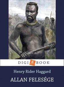 HAGGARD, HENRY RIDER - Allan felesége [eKönyv: epub, mobi]