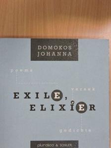 Domokos Johanna - Exil, elixír [antikvár]