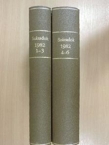 Anderle Ádám - Századok 1982/1-6. II. [antikvár]