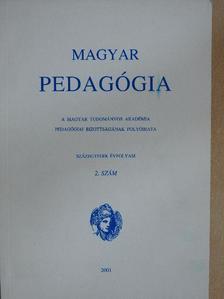 Boreczky Ágnes - Magyar pedagógia 2001/2. [antikvár]