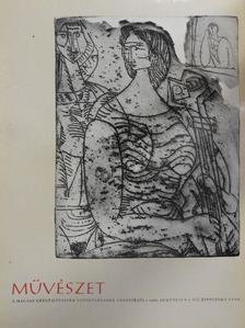Akácz László - Művészet 1966. augusztus [antikvár]