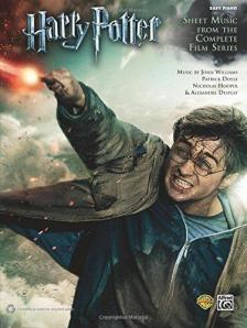 WILLIAMS, DOYLE, HOOPER, DESPLAT - HARRY POTTER, SHEET MUSIC FROM THE COMPLETE FILM SERIES, EASY PIANO (ARR. DAN COATES)