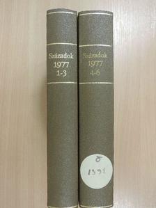 Dévényi Ivánné - Századok 1977/1-6. I-II. [antikvár]