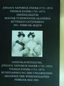 Beke László - Johann Nepomuk Ender - Thomas Ender emlékkiállítás [antikvár]