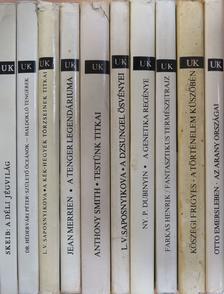 """Anthony Smith - """"10 kötet az Univerzum Könyvtár sorozatból (nem teljes sorozat)"""" [antikvár]"""