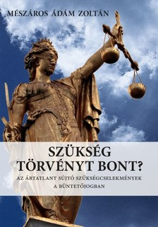 Mészáros Ádám Zoltán - Szükség törvényt bont? - Az ártatlant sújtó szükségcselekmények a büntetőjogban [eKönyv: epub, mobi]
