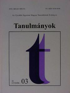 Andric Edit - Tanulmányok 2003 [antikvár]