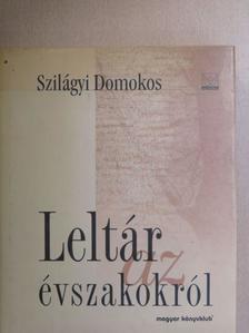 Szilágyi Domokos - Leltár az évszakokról [antikvár]