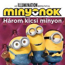 Minyonok - Három kicsi minyon / Álmos kiscicák 2 könyv 1-ben!