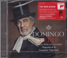 Verdi - DOMINGO VERDI CD