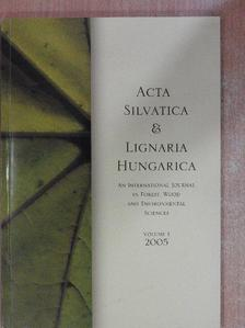 Bartha Dénes - Acta Silvatica & Lignaria Hungarica 2005 [antikvár]