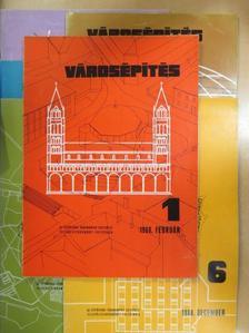 Bakonyi Dezső - Városépítés 1968/1-6. [antikvár]
