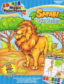 Safari Paint Posters, Szafari Kifestő