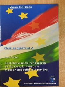 Pitti Zoltán - Közteherviselési rendszerek az EU-ban, kihívások a magyar adópolitika számára [antikvár]
