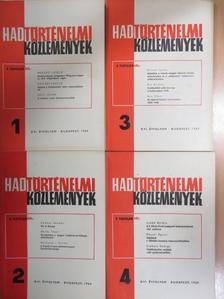 Ács Tibor - Hadtörténelmi Közlemények 1969/1-4. [antikvár]