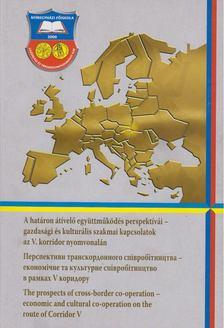 Láczay Magdolna - A határon átívelő együttműködés perspektívái - gazdasági és kulturális szakmai kapcsolatok az V. korridor nyomvonalán [antikvár]