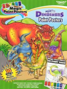 Trigo - Dinosaurs Paint Posters, Dinoszaurusz Kifestő