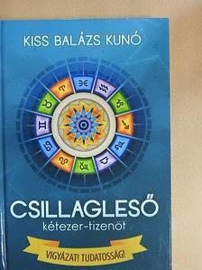 Kiss Balázs Kunó - Csillagleső 2015 [antikvár]
