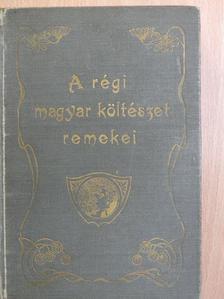 Anvos Pál - A régi magyar költészet remekei [antikvár]