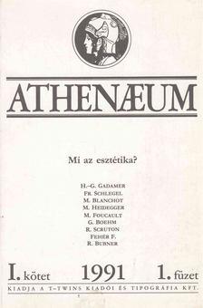 Bacsó Béla - Athenaeum 1991 I/1 [antikvár]