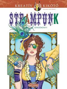 Marty Noble - Jane Steampunk - Színezőkönyv